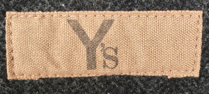 You can spot the early Y's women's line, as the labels look like this